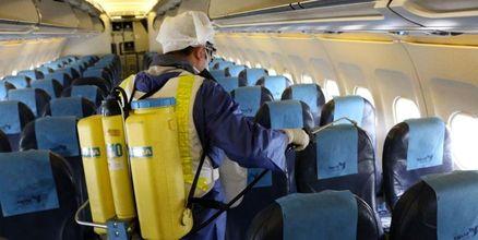 ضدعفونی روزانه هواپیماها در همه ایستگاهها قبل از هر پرواز