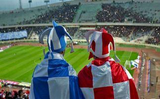 پشت صحنه عکاسی از بازیکنان استقلال و پرسپولیس + فیلم