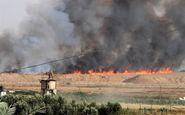 نوار غزه|پرتاب بالنهای انفجاری به سمت مناطق اشغالی