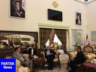 دیدار سفیر انگلیس با همتای ایرانی در عراق
