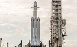 موشک آمادهسازی جهت انتقال انسان به مریخ، به فضا پرتاب شد