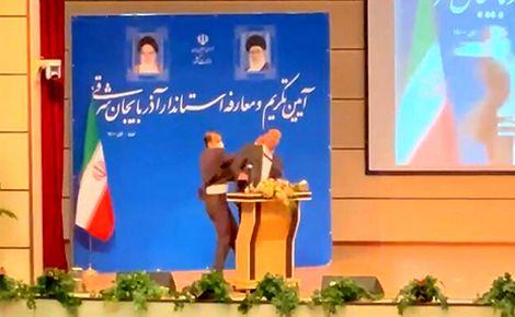 ماجرای سیلی خوردن استاندار آذربایجان شرقی چه بود؟