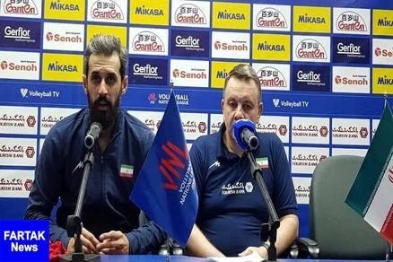 سعید معروف: شروع بازی با روسیه سخت بود
