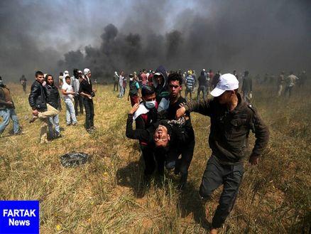 33 فلسطینی به ضرب گلوله نظامیان صهیونیستی زخمی شدند