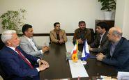 دیدار معاون رییس مجلس عراق با مسئولین دانشگاه رازی کرمانشاه