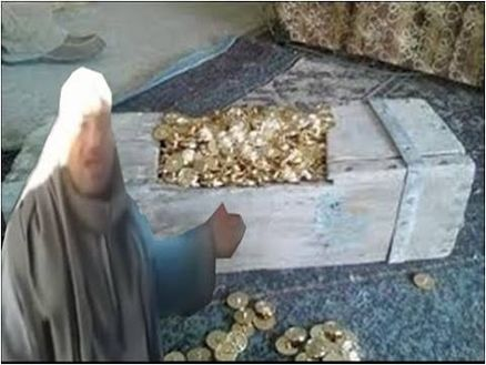 گنج قارون در کشور مصر کشف شد! +عکس