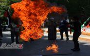 روز قدس روز جهانی حمایت مردم مظلوم فلسطین/ راهپیمایی مردم اصفهان