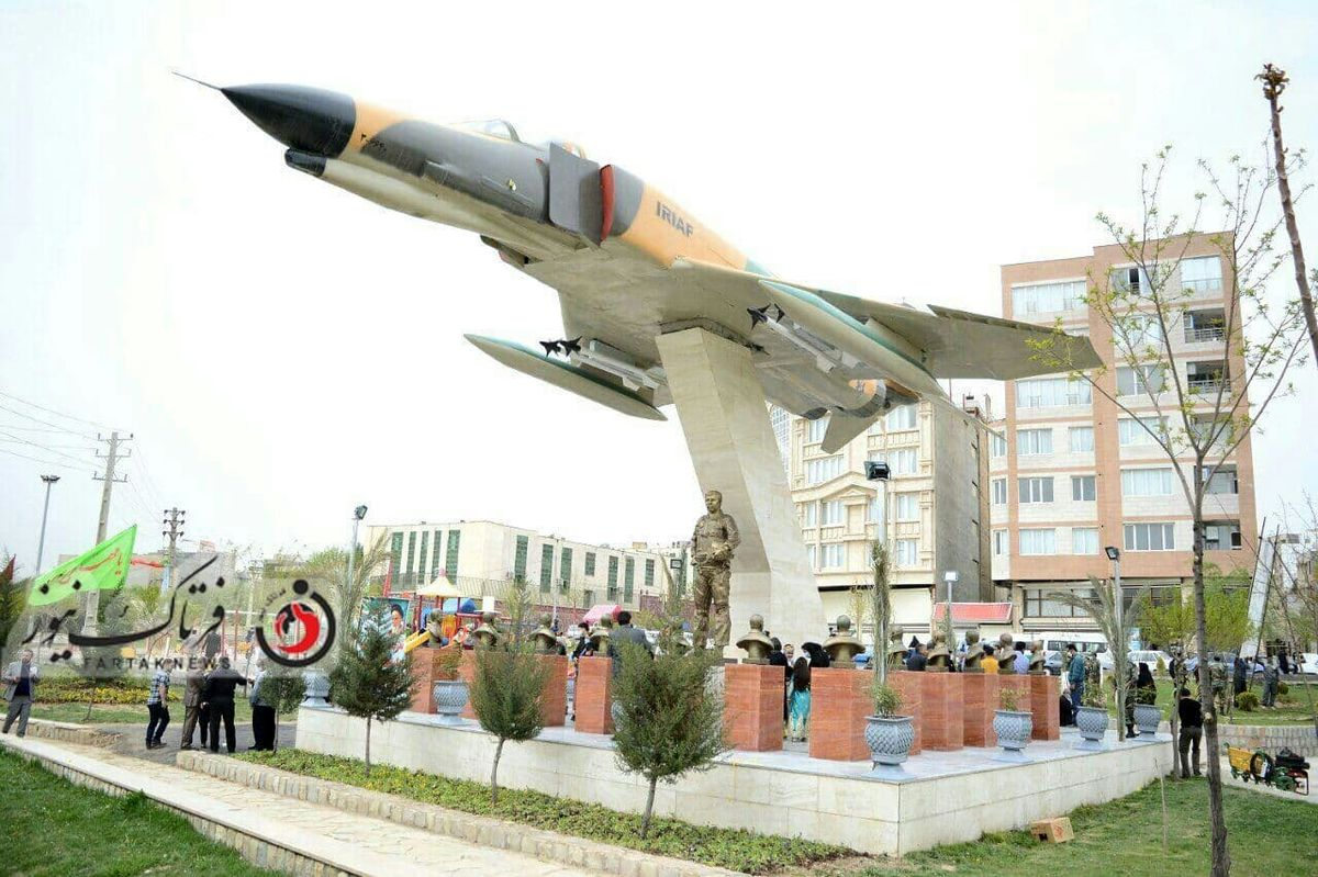آیین بزرگداشت طراح و لیدر عملیات اچ3 در کرمانشاه برگزار شد