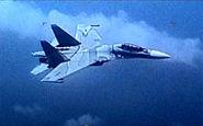 برخورد تهاجمی جنگنده ونزوئلا با جنگنده آمریکایی