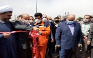گزارش تصویری مراسم افتتاحیه فاز اول تقاطع غیر همسطح امام خمینی (ره) مسیر شرق به غرب
