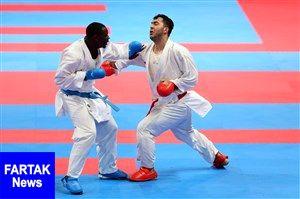 کاراته قهرمانی جهان؛ گنجزاده فینالیست شد