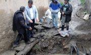 گوری تاریخی در محله قدیمی خواهر امام رشت کشف شد