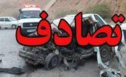 ۳ کشته و ۷ مجروح در اثر برخورد ۳ خودرو