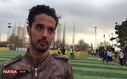صحبت های امیدنورافکن در کمپ استعدادیابی فوتبال + فیلم