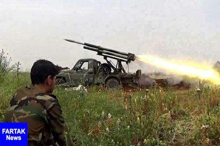 درگیری شدید ارتش سوریه با شبه نظامیان وابسته به ترکیه