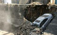 ریزش مرگبار ساختمانی در خیابان طالقانی/ خارج کردن دو تن از زیر آوار