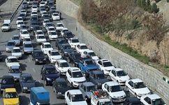 ترافیک در هراز و چالوس/ بارندگی در فارس و هرمزگان