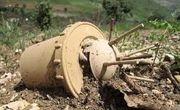 کشف گلوله خمپاره جنگی در هرسین