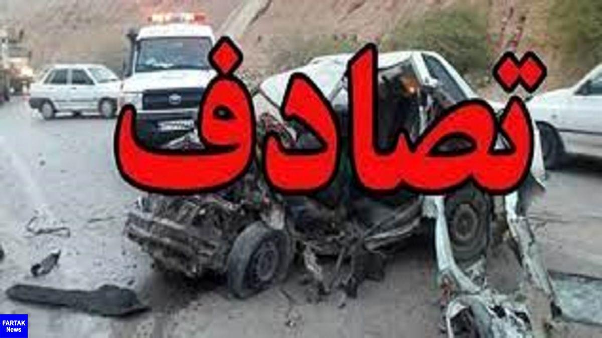 تصادف خونین در شیراز با 4 مصدوم