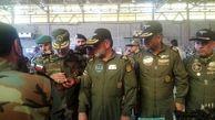 بازدید فرماندهان نیروی زمینی ارتش و هوانیروز از نمایشگاه دستاوردهای هوانیروز کرمانشاه به روایت تصویر