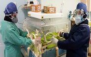 نخستین نوزاد از مادر مبتلا به کرونا در اسفراین متولد شد