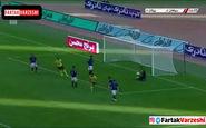 فیلم/ گل اول سپاهان به پیکان توسط سروش رفیعی