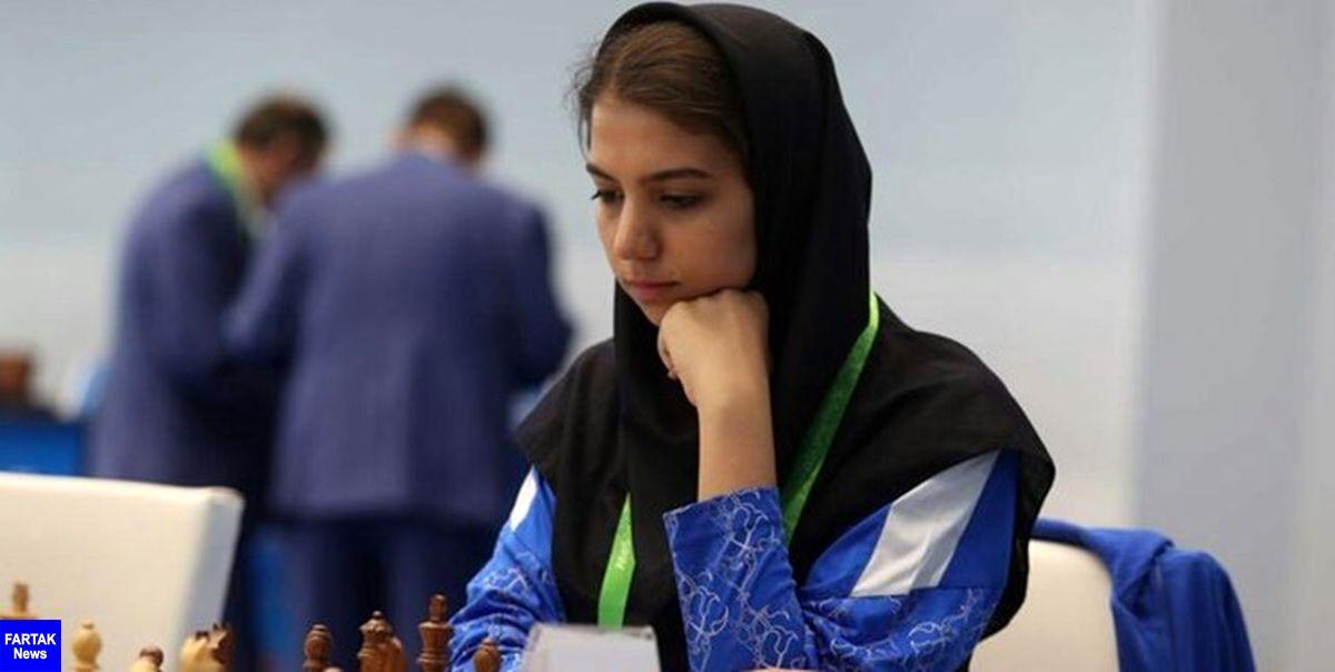 صعود شطرنجباز کشورمان به مرحله یک چهارم نهایی جایزه بزرگ