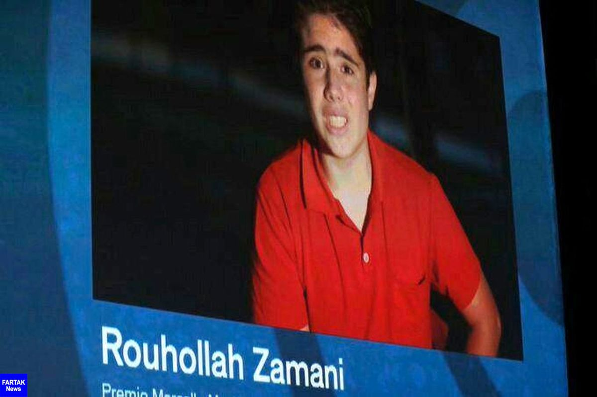 «روحالله زمانی» از جشنواره ونیز جایزه گرفت