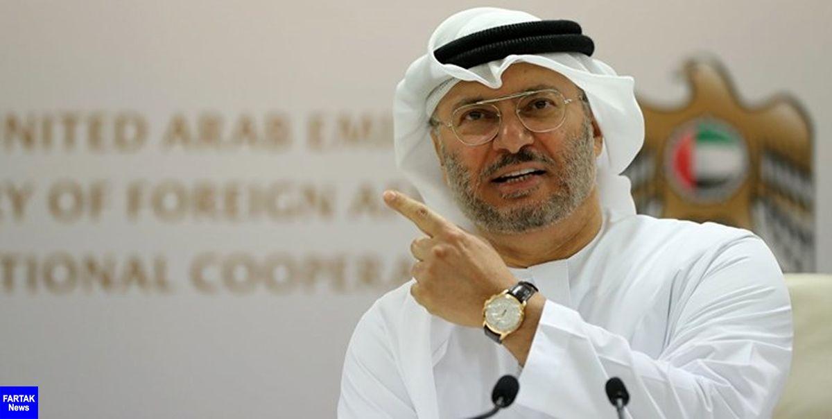 واکنش وزیر مشاور در امور خارجه دولت امارات به اظهارات وزیر دفاع ترکیه