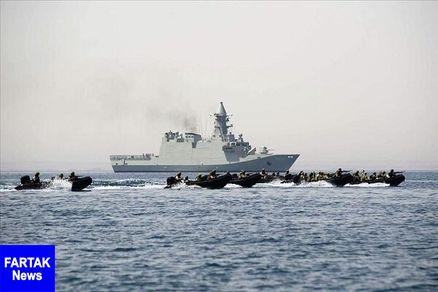 رزمایش مشترک کشورهای حاشیه دریای سرخ