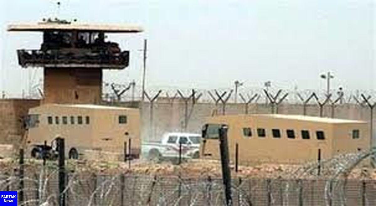 حمله موشکی به پایگاه التاجی در شمال بغداد