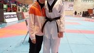 هوگوپوش کرمانشاهی در رقابتهای بزرگسالان  تکواندو بانوان کشور نشان طلا دریافت کرد
