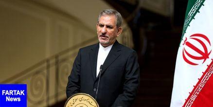 جهانگیری: سفر رییس جمهور کشورمان به عراق نمایش اوج عظمت ایران بود