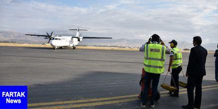 نخستین پرواز بینالمللی فرودگاه بجنورد انجام میشود