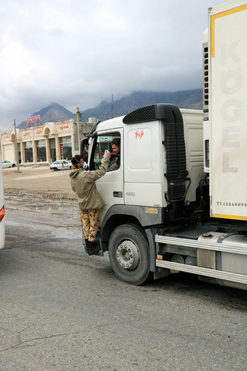 گزارش تصویری طرح غربالگری ویروس کرونا مسافرین ورودی استان کرمانشاه