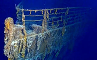 تصاویر شگفت انگیز از بقایای کشتی تایتانیک