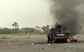 زمین گیر شدن متجاوزان سعودی اطراف تحیتا در ساحل غربی یمن+فیلم