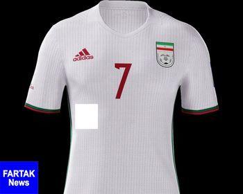 شوخی با پیراهن تیم ملی فوتبال ایران +عکس
