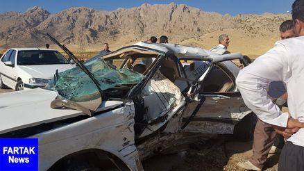 کشته شدن هشت نفر در سه تصادف رانندگی در ایلام