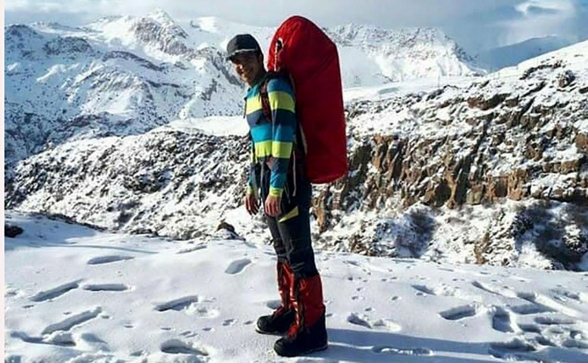 پایان تلخ صعود کوهنورد اصفهانی به دماوند / 12 روز بعد جنازه اش پیدا شد