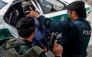 عامل شهادت مامور نیروی انتظامی آبادان به دام پلیس افتاد