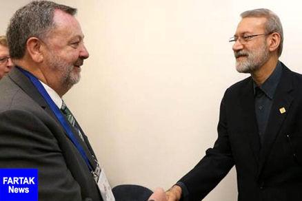 لاریجانی از بازگشایی سفارت ایرلند در ایران استقبال کرد