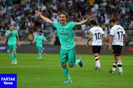 رئال مادرید نخستین فینالیست سوپرجام اسپانیا