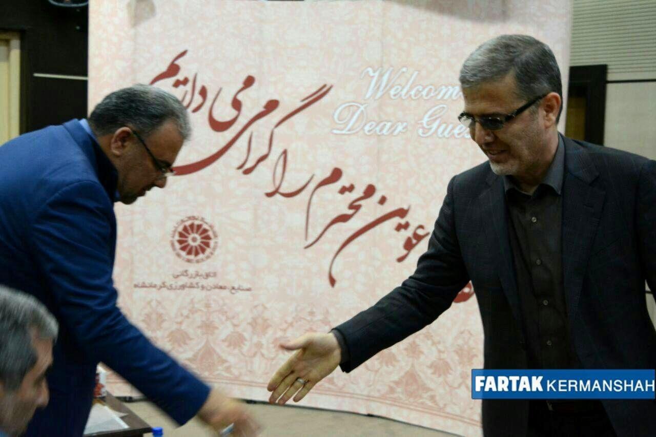 آیین تکریم و معارفه رییس سازمان صنعت، معدن و تجارت استان کرمانشاه به روایت تصویر
