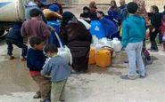 قطع آب شهر الحسکه به دست نیروهای اشغالگر ترکیه