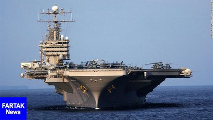 فرمانده یگان هوایی آبراهام لینکلن: بدنبال جنگ با ایران نیستیم