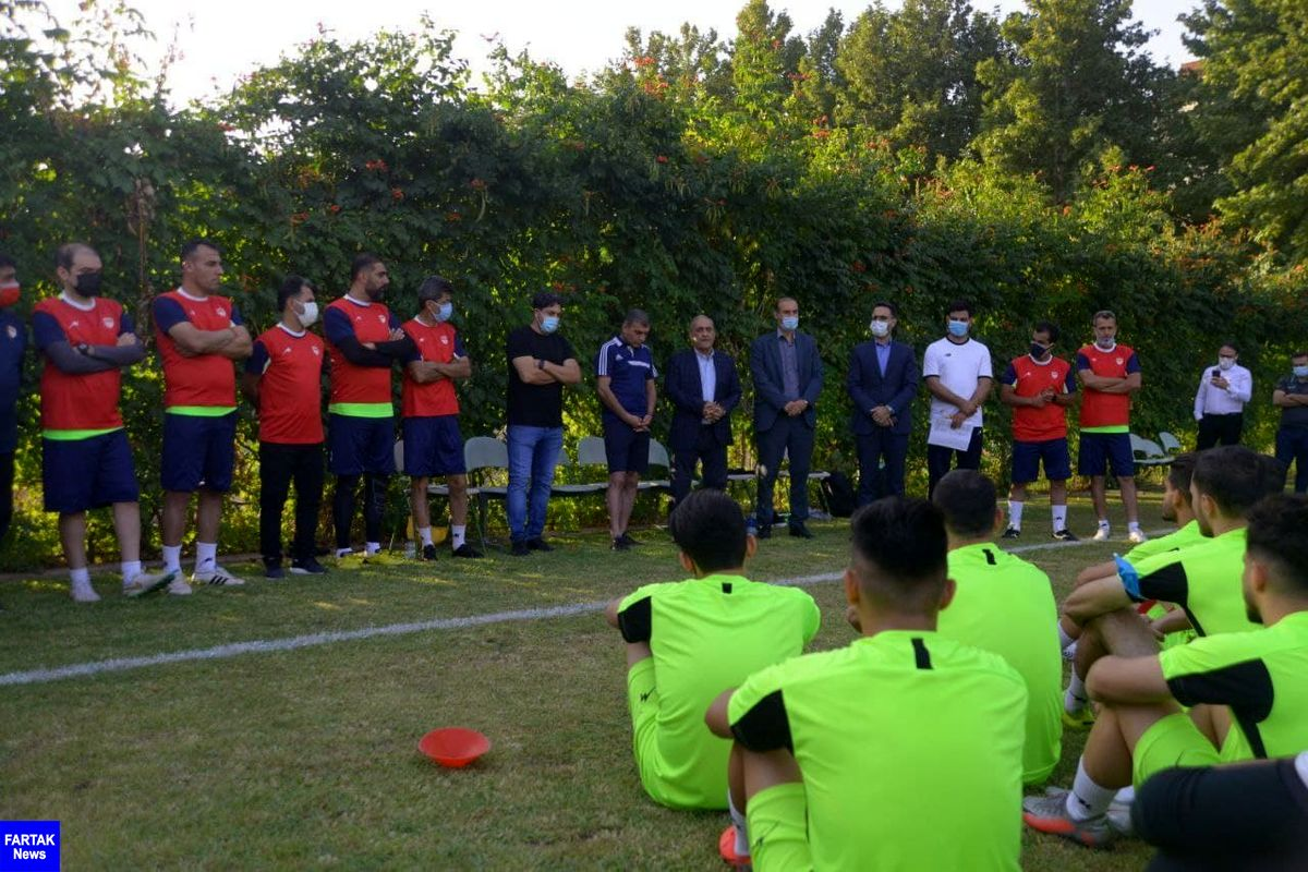 دستیاران ویسی در تیم فوتبال فولاد خوزستان مشخص شدند