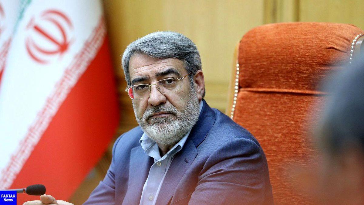 رحمانی فضلی بهعنوان فرمانده قرارگاه عملیاتی ستاد ملی مبارزه با کرونا منصوب شد