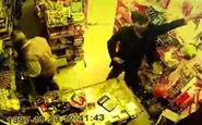 سرقت زعفران از سوپرمارکتی در کرمان +فیلم