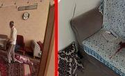 مرگ تلخ زن و مرد گلپایگانی در بازگشت از سفر به خانه شان + عکس